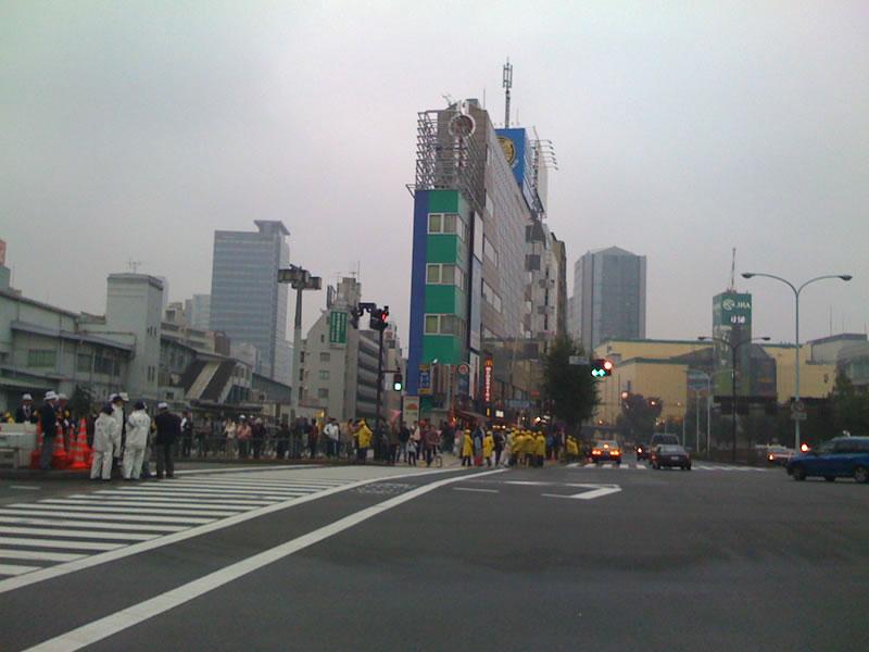 東京国際女子マラソン 水道橋→国立競技場